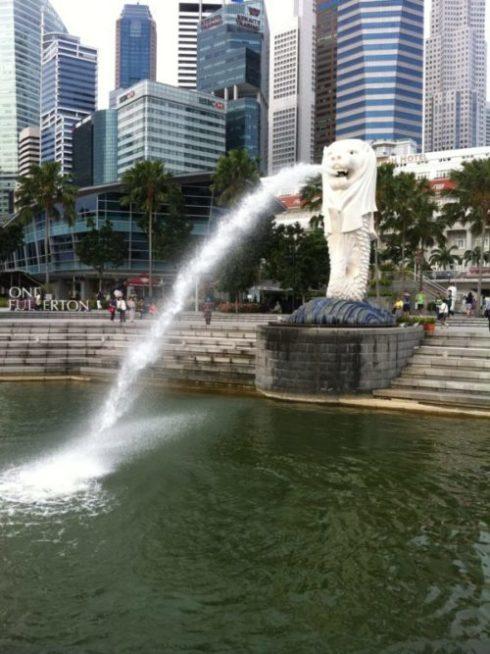 シンガポール観光といえばマーライオン【由来や行き方など】9