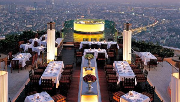 バンコクのホテル「ルブア」のルーフトップバーで夜景を満喫しよう5
