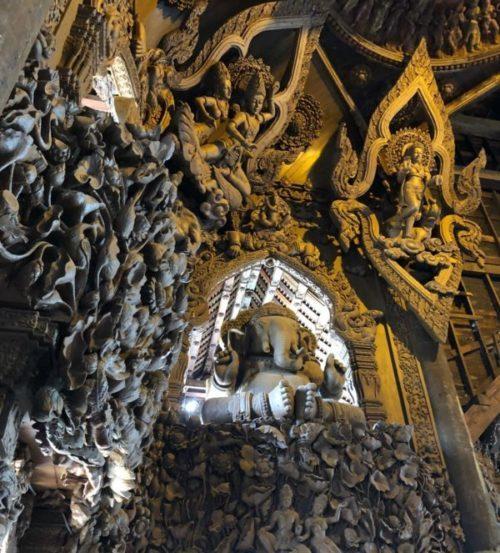 パタヤの巨大寺院!?「サンクチュアリー・オブ・トゥルース」は圧巻4