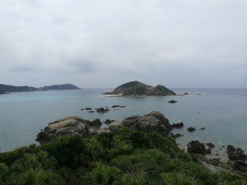 渡嘉敷島のクバンダキ展望台3