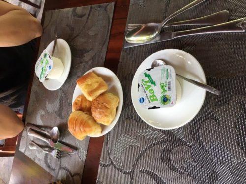 ホイアンのおすすめホテル「Village Lodge」の朝食1