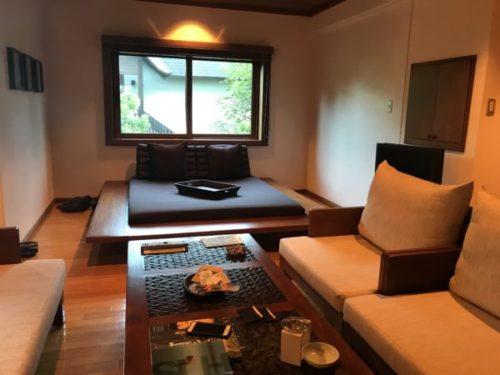 屋久島の高級リゾート「サンカラホテル」の部屋3