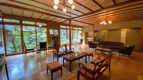 城崎温泉No.1と名高い西村屋本館の貸切露天風呂・食事を当ブログで紹介2