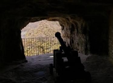 ルクセンブルグの観光名所「ボックの砲台」
