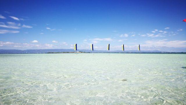 アイランドホッピング中に訪れたナルスアン島のビーチ
