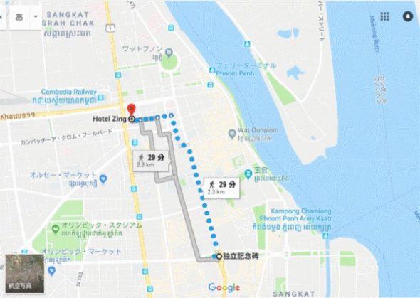 カンボジアのバイクタクシーの価格や乗り方【乗車動画あり】1