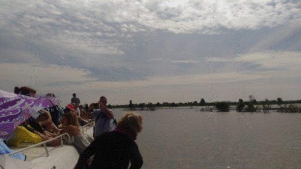 シェムリアップからプノンペンへの船移動【料金と移動時間、実際の様子】3