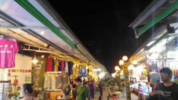 シェムリアップのナイトマーケットの場所・営業時間を詳しく紹介4