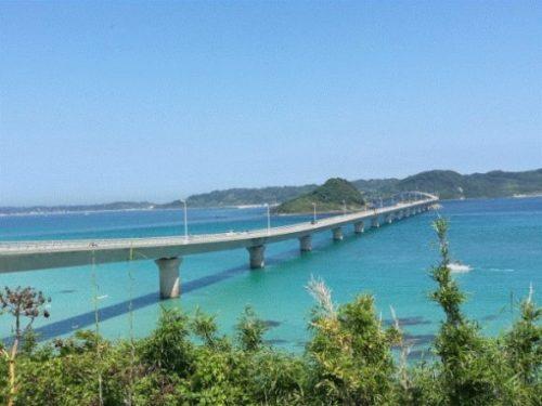 角島大橋の絶景おすすめ撮影スポット1