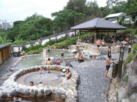 台湾・新北投温泉街にある公衆浴場「千禧湯」へ行ってみた3