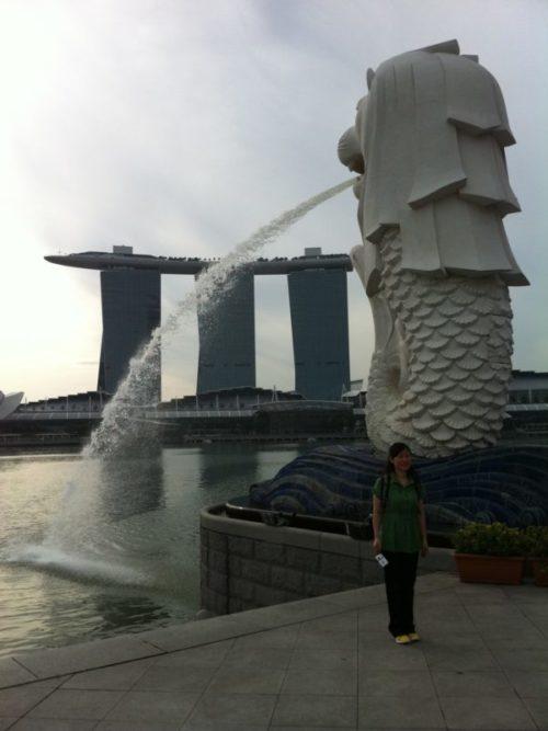 シンガポール観光といえばマーライオン【由来や行き方など】8