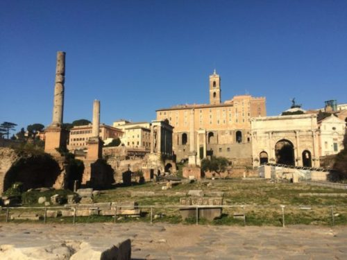 「ローマ歴史地区」にかたまってある世界遺産を一日で観光してみよう3