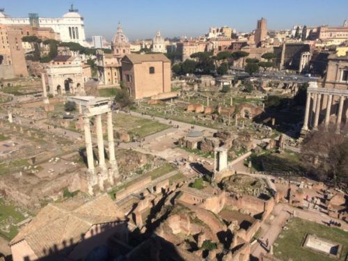「ローマ歴史地区」にかたまってある世界遺産を一日で観光してみよう4