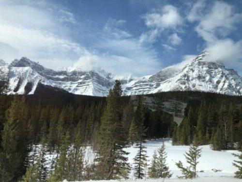 【カナダ】国立公園の中にある町「バンフ」で大自然を満喫1