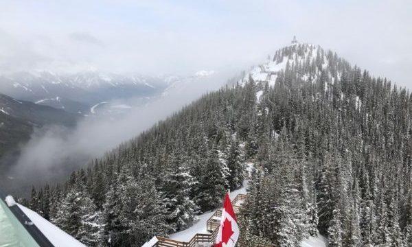 【カナダ】国立公園の中にある町「バンフ」で大自然を満喫3