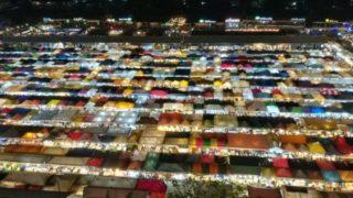 【バンコク】ラチャーダー鉄道市場のインスタ映え撮影スポットの行き方
