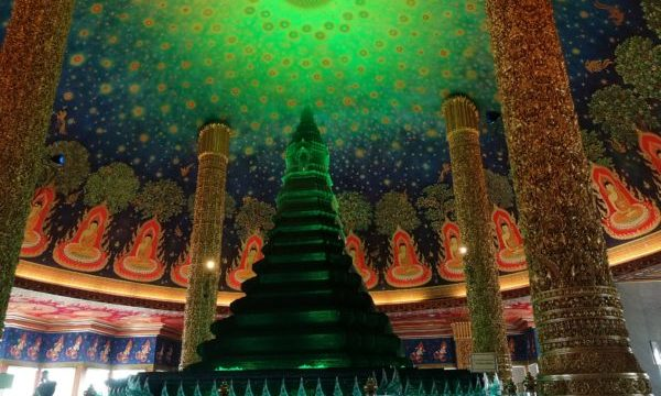 タイ・バンコクの「ワットパクナム」の拝観時間・料金・注意点など