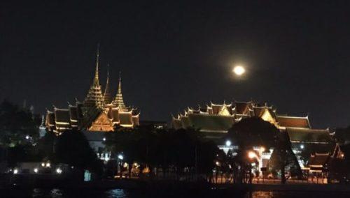 チャオプラヤ川のナイトクルーズ「プリンセス」でバンコクの夜を楽しもう3