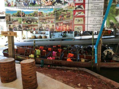 バンコクから行く水上マーケットはダムヌンサドゥアックがおすすめ2