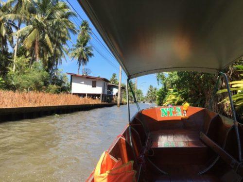 バンコクから行く水上マーケットはダムヌンサドゥアックがおすすめ3