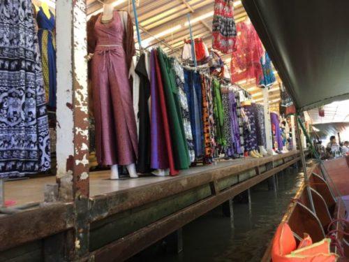 バンコクから行く水上マーケットはダムヌンサドゥアックがおすすめ4
