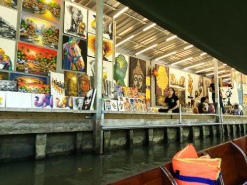 バンコクから行く水上マーケットはダムヌンサドゥアックがおすすめ5