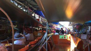 バンコクから行く水上マーケットはダムヌンサドゥアックがおすすめ7