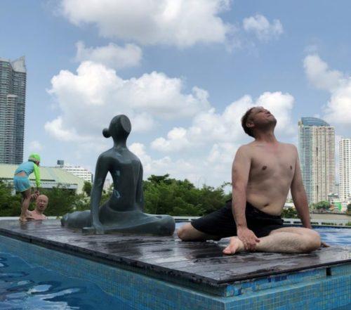 5つ星のホテル「チャトリウムリバーサイドバンコク」はプールが最高3