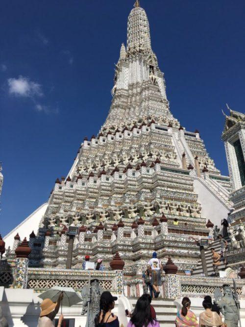 バンコクの三大寺院観光【渡し船で効率よく回ろう】1