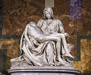 サン・ピエトロ大聖堂のミケランジェロのピエタ