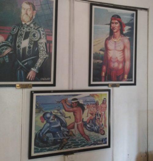 セブ島サン・ペドロ教会に展示してある絵