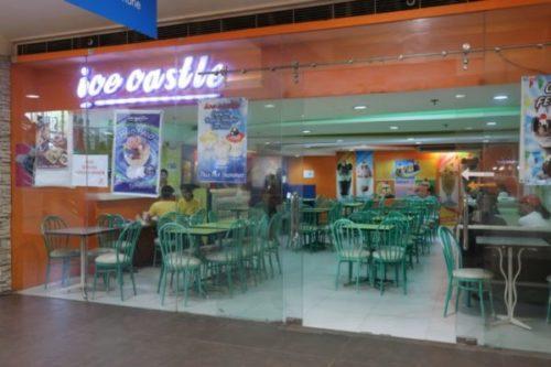 SMモール内でハロハロが食べられる「アイスキャッスル」