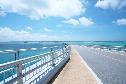 伊良部大橋を渡って、宮古島から伊良部島へ2