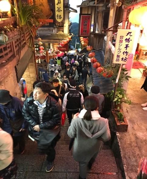 台湾の九份にある「阿妹茶酒館」2