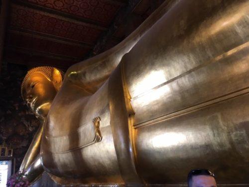 ワットポー寺院の黄金の涅槃仏2
