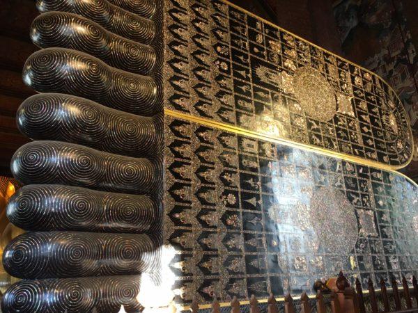 ワットポー寺院の黄金の涅槃仏4