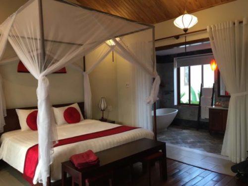ホイアンのおすすめホテル「Village Lodge」のジュニアスイートルーム2