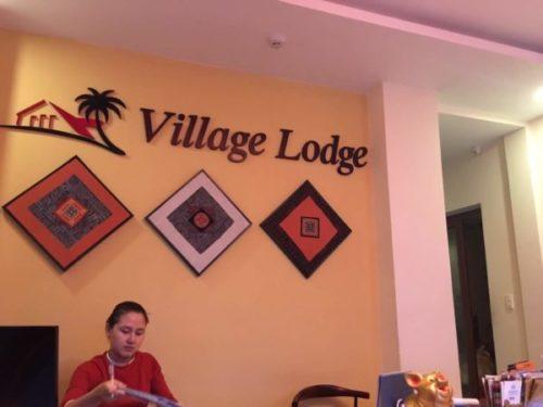ホイアンおすすめのホテルVIllage Lodgeのフロント