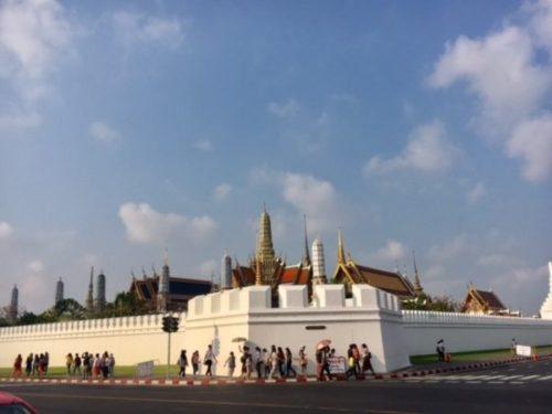 バンコクのワットプラケオ(王宮寺院)1