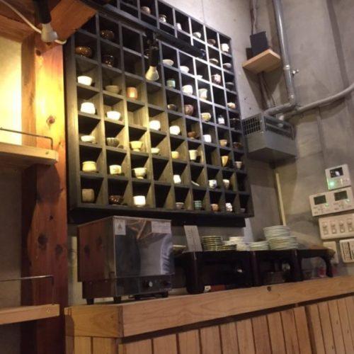 鎮座タキビヤ選りすぐりの日本酒をこだわりのおちょこを選んでいただく