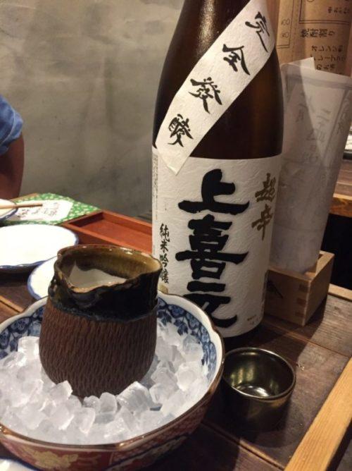 鎮座タキビヤ選りすぐりの日本酒2