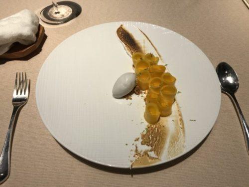 屋久島のサンカラホテルの「オーカス」でディナー2