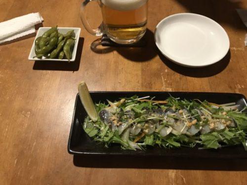 屋久島のおすすめ一棟貸しホテル「ヴィラウルー」から行けるダイニングバー「散歩亭」の料理
