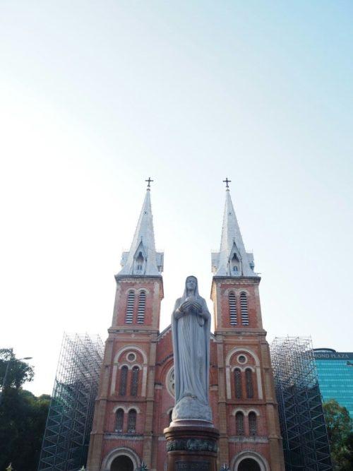 ベトナムのノートルダム「サイゴン大聖堂」!改修工事はいつまで?2