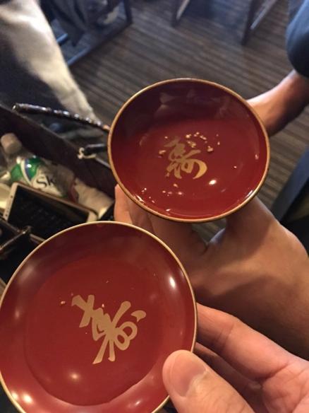 加賀ご当地楽 「加賀獅子舞―白銀の舞―」のふるまい酒