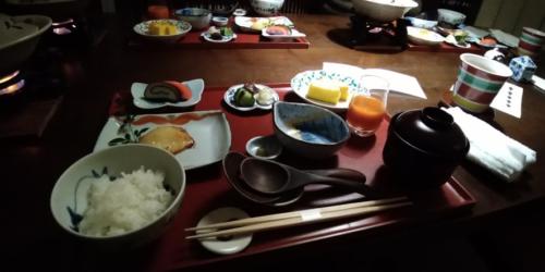 界 加賀の豪華な朝食
