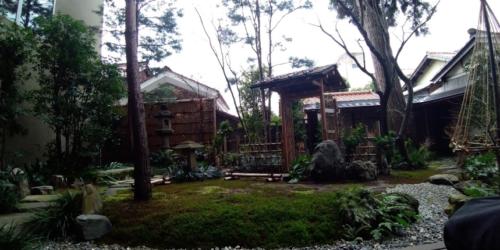界 加賀の中庭