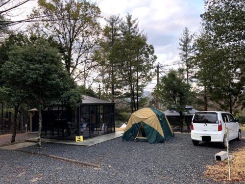 大阪市内から約一時間の能勢温泉キャンプ場を当ブログで紹介8